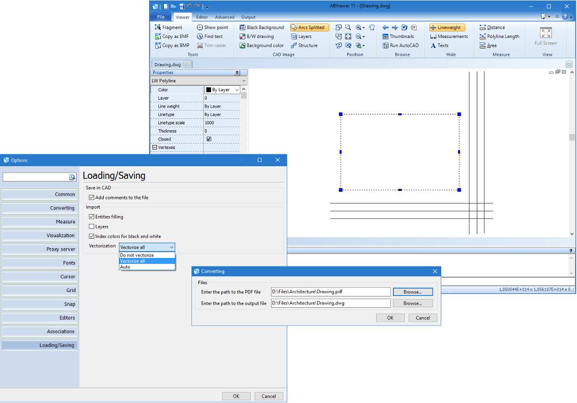 Convert PDF to DWG | Free Online PDF to DWG Converter